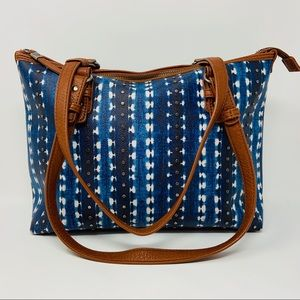 The Sac Coated Canvas Purse